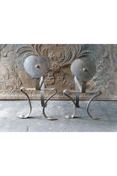 Il supporto per utensili camino (ferro battuto)