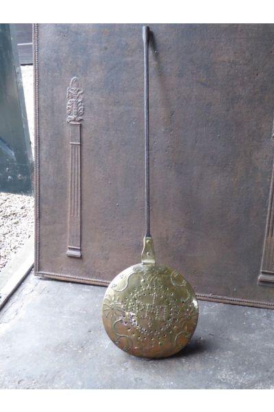 Antica bottiglia di acqua calda (rame)