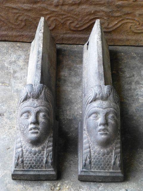 Lodewijk 15 vuurbokken