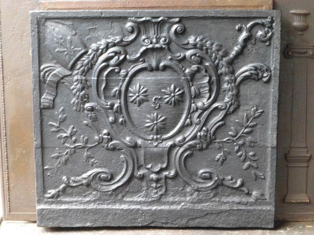 Louis XV haardplaat
