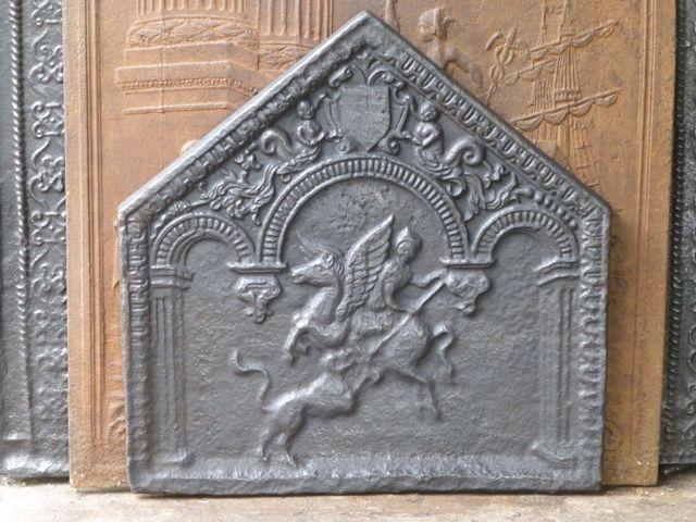 Franse Renaissance haardplaat